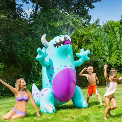 Big Mouth Ginormous Monster Yard Sprinkler