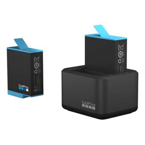 GoPro HERO9 Black Dual Battery Charger with Spare Battery