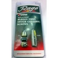 Rage X-Treme 4-Blade Replacement Blades