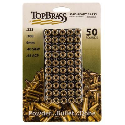 Top Brass .223 Rem w/ Tray 50Ct