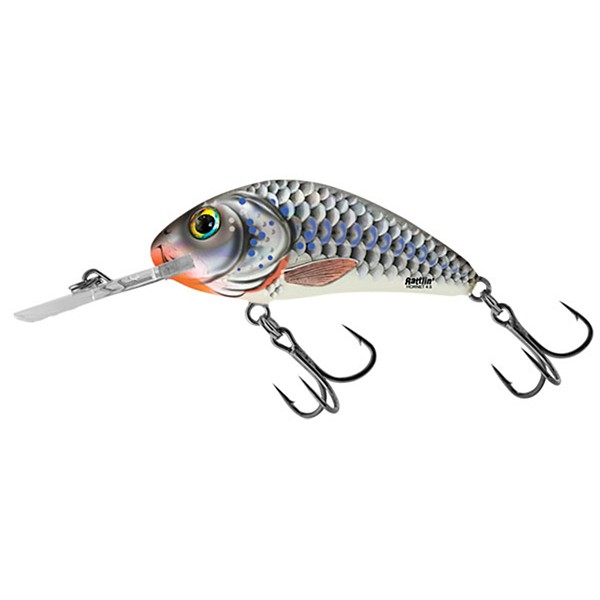 Silver Holographic Shad