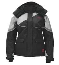 Women's Striker Ice Prism Jacket Black Grey