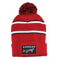 Men's Striker SI Striped Pom Hat