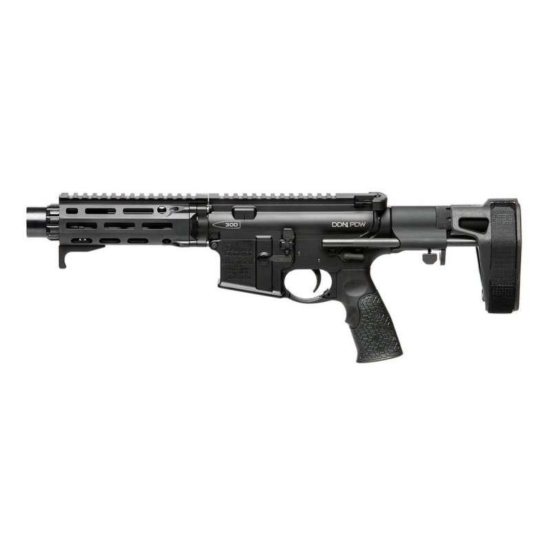 Daniel Defense DDM4 PDW .300 AAC Blackout Pistol without Magazine