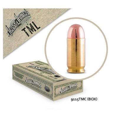 Jesse James TML 9mm 115 gr TM 50bx