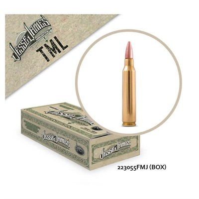 Jesse James TML 223 Rem 55 gr FMJ 50bx