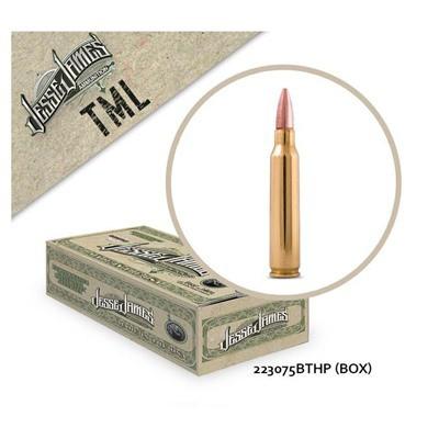 Jesse James TML 223 Rem 75gr BTHP 50bx