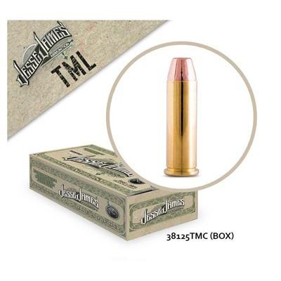Jesse James TML 38 Spl 125gr Tm 50bx