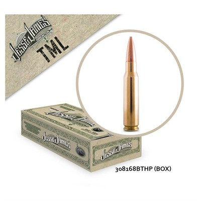 Jesse James TML 308Win 168gr BTHP 20bx