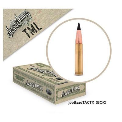 Jesse James TML 300Blk 110gr TACTX 20