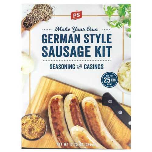 PS Seasoning German Style Sausage Kit