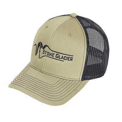 Stone Glacier Green Classic Trucker Cap