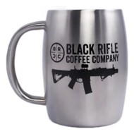 Black Rifle Coffee Company Vintage Logo Metal Camp Mug