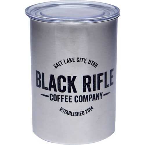 Black Rifle Coffee Stainless-Steel Air-Tight Container