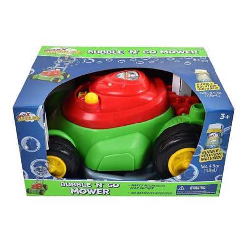 Maxx Bubbles Bubble-N-Go Toy Lawn Mower