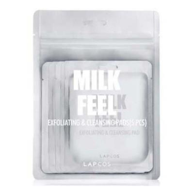 Women's Lapcos Milk Feel Exfoliating & Cleansing Pad 5 Pack