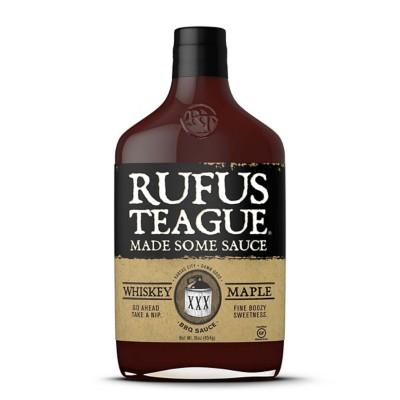Rufus Teague Whiskey Maple BBQ Sauce