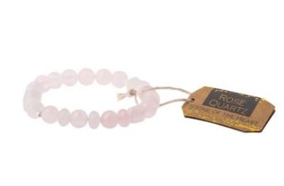 Women's Scout Curated Wears Rose Quartz Stone Bracelet