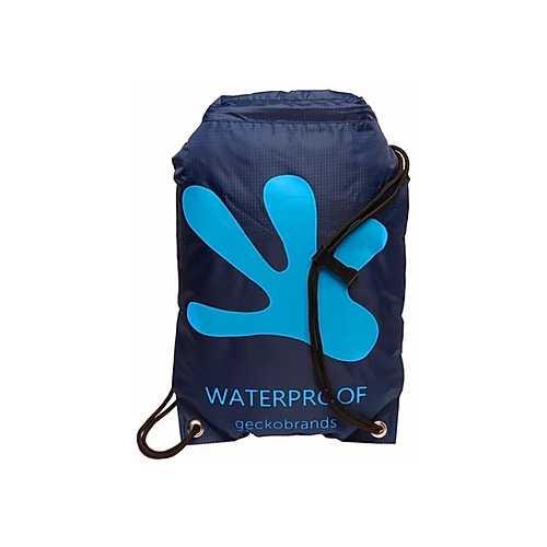 Gecko Drawstring Waterproof Backpack