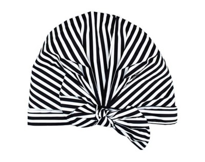 Women's Kitsch Striped Shower Cap