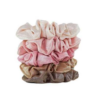 Women's Kitsch Metallic Scrunchie Set