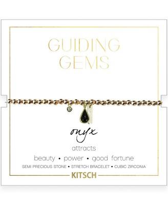 Women's Kitsch Onyx Stretch Bracelet