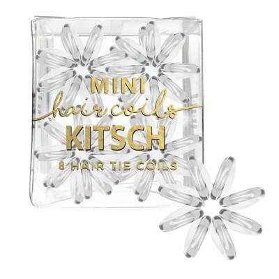Women's Kitsch 4 pc. Mini Transparent Hair Coil Set