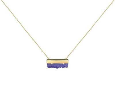 Women's Kitsch Druzzy Amethyst Necklace