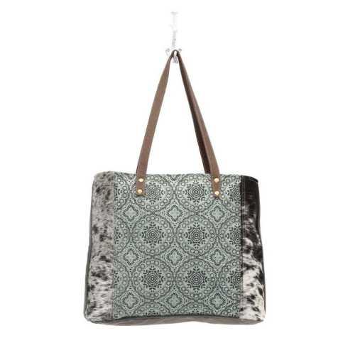Women's Myra Bag Floral Chic Canvas Totebag