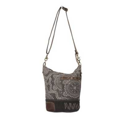 Women's Myra Bag Vintage Carved Shoulder Bag