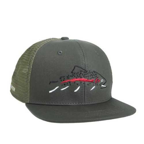 Rep Your Water Minimalist Rainbow High Profile Hat