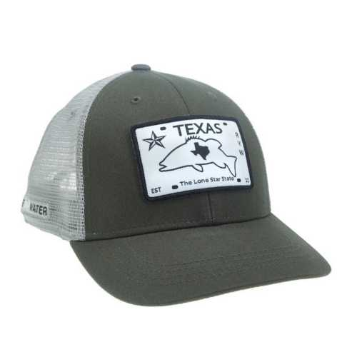 Rep Your Water Texas License Plate Hat