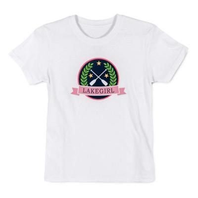 Grade School Girls' Lakegirl Lily Patch T-Shirt