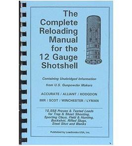 Loadbooks USA Shotgun Reloading Manual