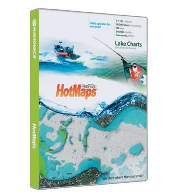 Navionics HotMap Platinum Software