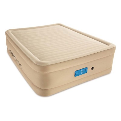 Bestway AlwayzAire Comfort Choice Fortech 10 Inch Queen Size Air Bed Built-in AC Pump with USB