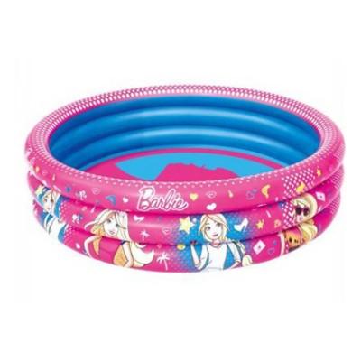 Bestway Barbie Inflatable 3-Ring Pool