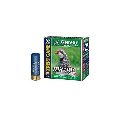 Clever Mirage T2 Xpert Game 12ga 1-1/8 oz #8 1250 FPS