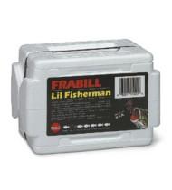 Frabill Li'l Fisherman Dual Lid Worm Box