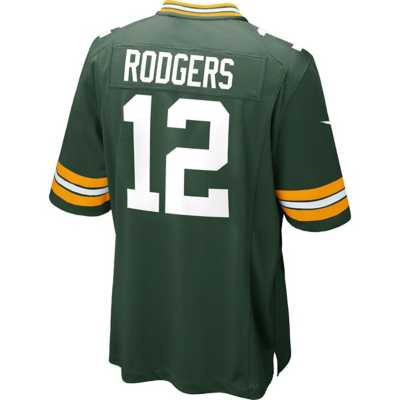 Men's Nike Green Bay Packers Aaron Rodger Game Jersey