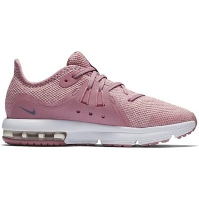 8b009b633d Preschool Girls' Nike Air Max Sequent 3 Running Shoes | SCHEELS.com