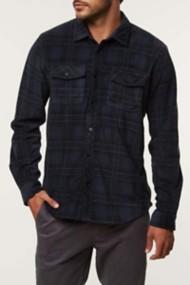 Men's O'Neill Glacier Ridge Flannel Long Sleeve Shirt