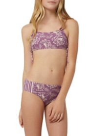 Grade School Girls' O'Neill Layne Bralette Bikini Set