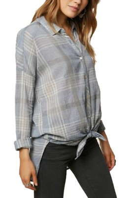 Women's O'Neill Arlow Plaid Shirt