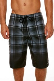 Men's O'Neill Santa Cruz Plaid Boardshort