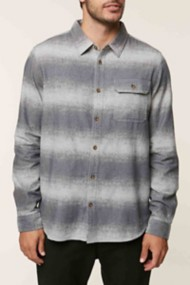 O'Neill Mens Blurred Flannel