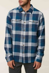 O'Neill Mens Wilshire Flannel