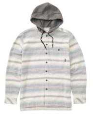 Men's Billabong Baja Hooded Flannel Long Sleeve Shirt