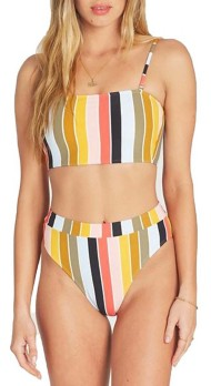 Women's Billabong High On Sun Tube Badeau Bikini Top