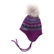 Preschool Girls' Nano Diamond Pom Beanie